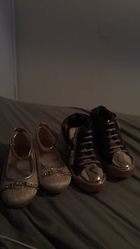 Two pairs of black and brown leather shoes Tarpon Springs, 34689