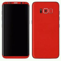 smartphone rouge Samsung Galaxy Android Paris