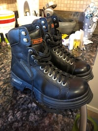 Harley motorcycle boots. Men's size 8. Brand new Calgary, T2J 5T5