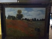 painting by Claude Monet, field of poppies. Westminster, 80031