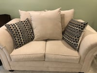 Microfiber loveseat in excellent condition Brookfield, 06804