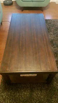 Moving Sale-Coffee Table- From Leon- Hard Wood Markham, L6B 0W2