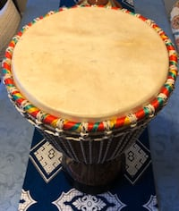 drum made in North Africa musique percussion Hand Drum Good Wood Burke, 22015