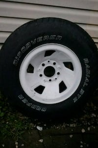 "Two 15"" tires/rims Warren, 48091"