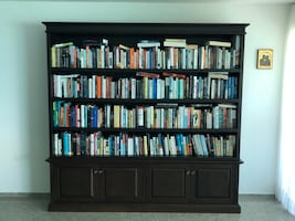 Large Wooden Custom Bookcase