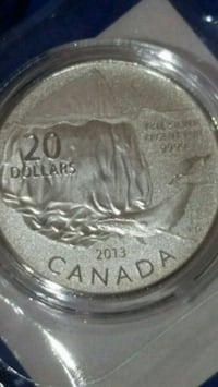Iceberg Whale limited edition silver coin Canada  Toronto, M3C