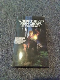 Where the red fern grows by Wilson Rawls book St. Augustine, 32080