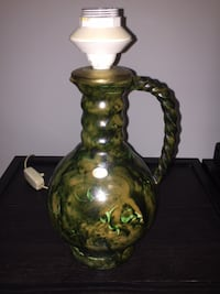 Pottery Jug/Lamp Made in Sweden Toronto