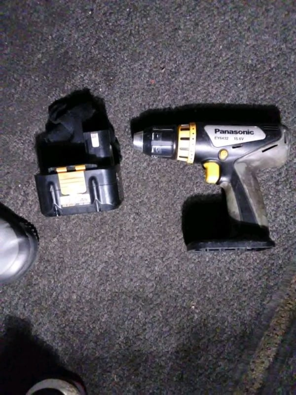 Panasonic 15.6v cordless drill and battery works but no charger 9958c601-0c10-4ebb-a37b-bc47f634ff23