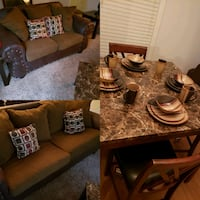 Couches with 3 tables and dining room set Memphis, 38128