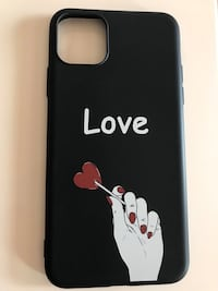 Funda iPhone 11 pro Max ''Love'' Apple nueva Granollers, 08402