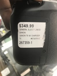 CANON T6 CAMERA W/CHARGER!! Baltimore, 21217