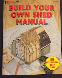 Build Your Own Shed Manual -very good condition