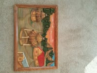 Togo African painting 21 km