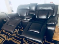 3 piece black recliners set bought it for 4000 selling for 3000. Mississauga, L4W 1E3