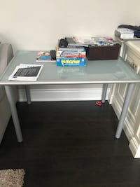 white wooden single-pedestal desk Brampton, L6X 0X3