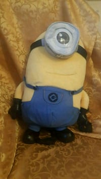 Minions back back with small zipper pouch in back  Loon Lake, B2W 6L1