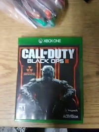 Call of Duty Black Ops III Xbox One game case Chicago, 60632