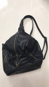black leather 2-way handbag Rockville, 20852
