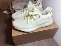 Pair of white adidas yeezy boost 350 with box Carrollton, 75010