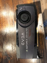 EVGA GEFORCE GTX-670 graphics card Whitby, L1R 1W2