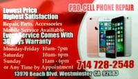 Phone battery repair Garden Grove, 92841