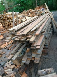 pile of brown wooden planks Freeland, 98249