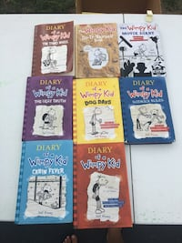 six Diary of a Wimpy Kid books Linganore, 21774