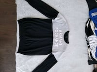 Armani Exchange two tone sweater Toronto, M5J 1B7