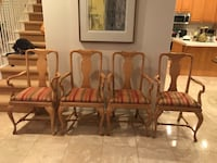 Four Queen Anne  dining chairs Carlsbad, 92009