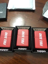 FULL SEND ZIPPO LIGHTERS