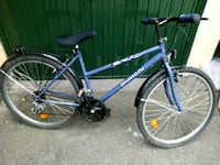 mountain bike blu e nera hardtail Milano, 20132