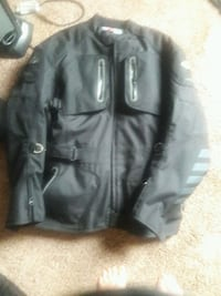 Motorcycle riding jacket very warm!