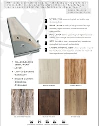 Flooring Premium Vinyl Plank WPC SPC We UBER to YOU FREE DELIVERY
