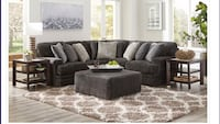 Smoke Grey Sectional On Sale!!