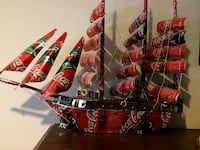 Coca-Cola themed galleon ship decor Dix Hills, 11746