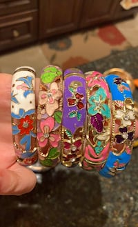 Price for one handmade cloisonne bangle Lutherville Timonium, 21093