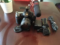 Nikon d300s dslr with rose mic and 18-70mm all working in decent condition  Lutherville Timonium, 21093