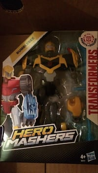 Transformers  bumblebee hero masher  new