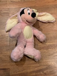 Minnie Mouse Disney Store Easter plush toy Los Angeles