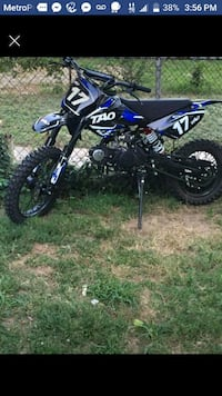 black and blue motocross dirt bike Alexandria, 22304