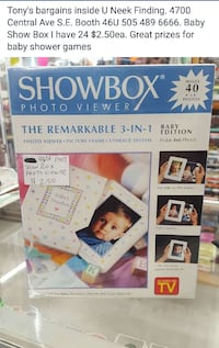 Showbox photo viewer the remarkable 3 in 1 photo viewer box 1594 mi