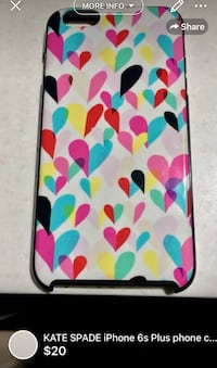 KATE SPADE iPhone 6s Plus phone case barely used London, N5W 1E8