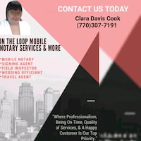 In The Loop Mobile Notary Services and More  Atlanta, 30331