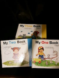 Set of number learning books London, N5Z 4R9