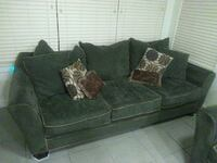 Hillcraft couch set. Polyester very soft!  Austin, 78748