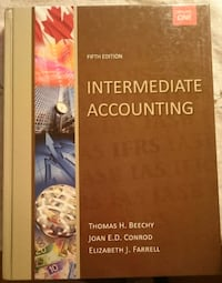 Intermediate Accounting- Volume 1- 5th Edition TORONTO