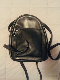 Roots black leather mini backpack Mississauga, L5W 1E9