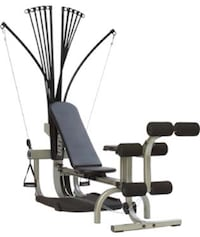 black and grey gym equipment Chicago, 60640