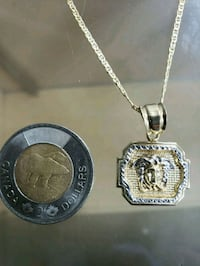10k Versace chain and pendant solid back  Vancouver, V6B 1K6